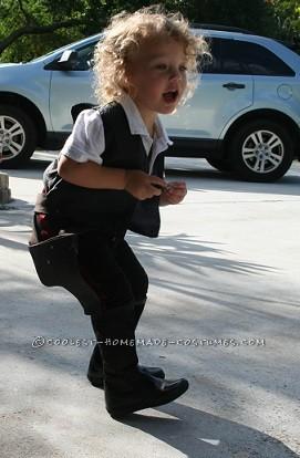Sweetest Little Miss Han Solo(ette) Costume - 3