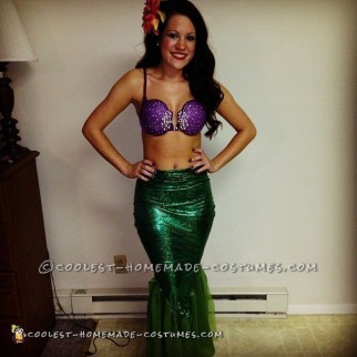 Sexy Homemade Ariel Costume