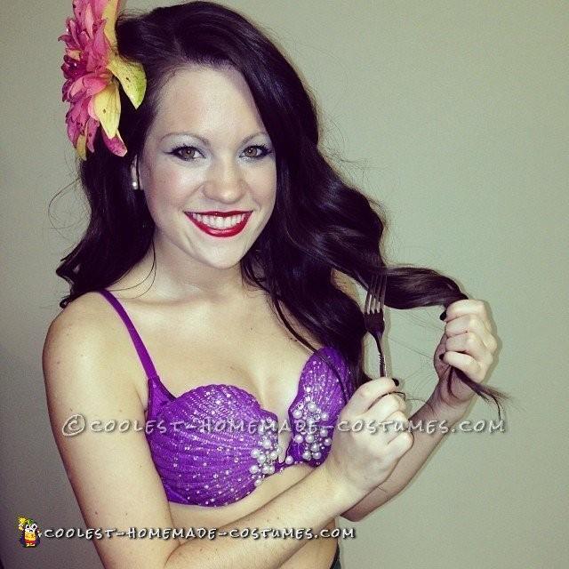 Sexy Homemade Ariel Costume - 1