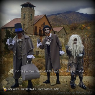 Beware of Hitchhiking Ghosts Group Costume