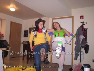 Toy Story Group Costume: Buzz, Woody, and Evil Emperor Zurg