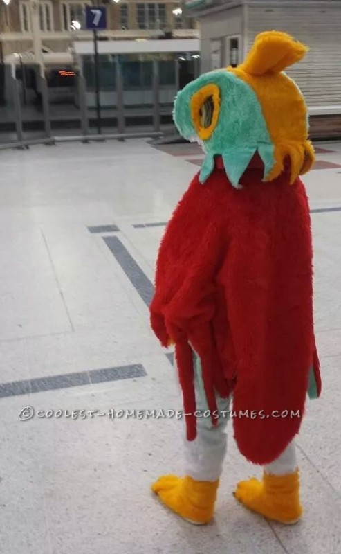 Coolest Hawlucha from Pokemon Costume