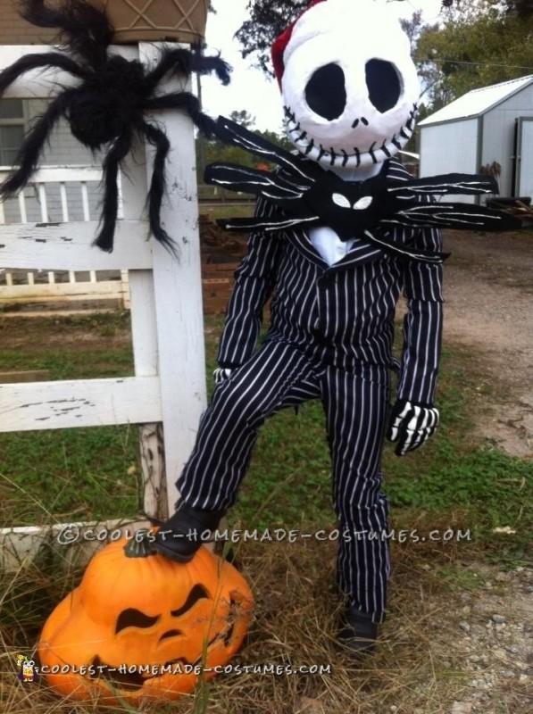 Jack and Sally Kids Costume