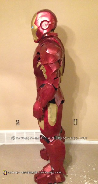 Awesome Homemade Iron Man Costume
