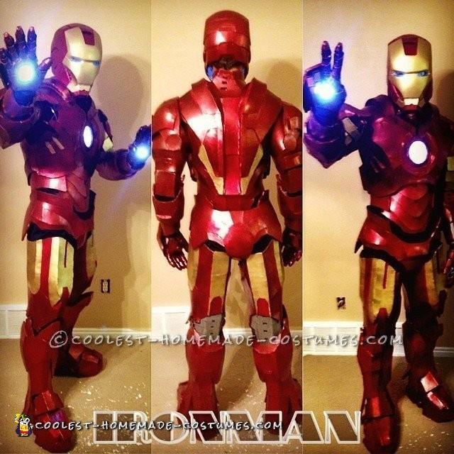 Awesome Homemade Iron Man Costume