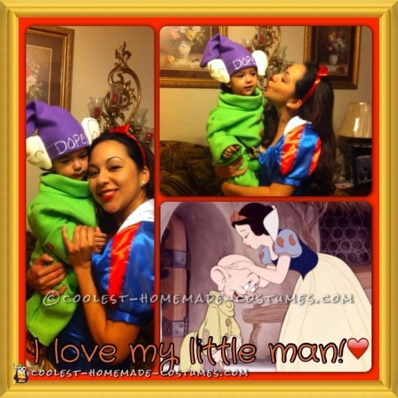 Fun Mommy Snow White and Baby Dopey Costumes