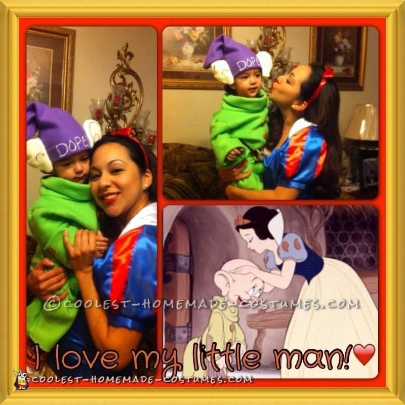Mommy SnowWhite baby Dopey