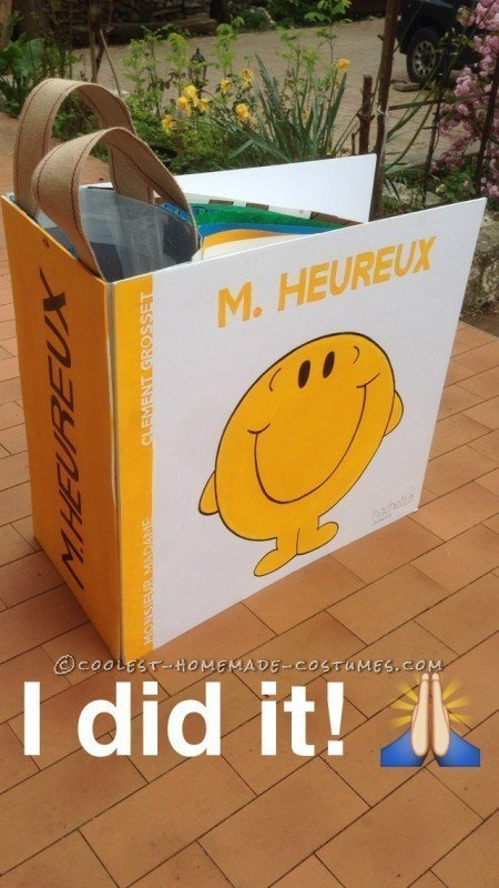 Coolest Mr. Happy Book Costume