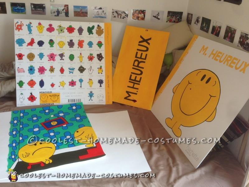 Coolest Mr. Happy Book Costume - 3