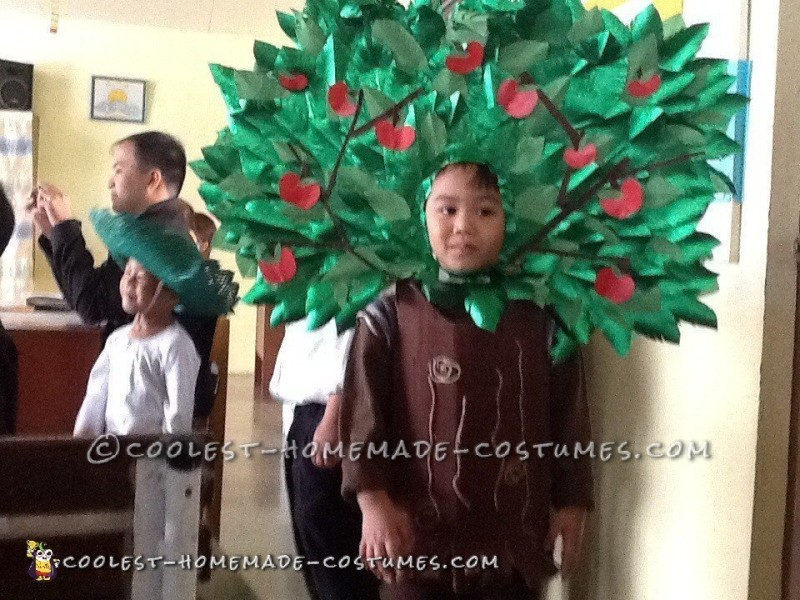 Original And Easy Costume For A Child