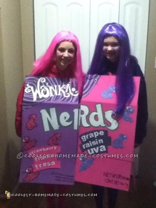 Nerds Girls Couple Costume