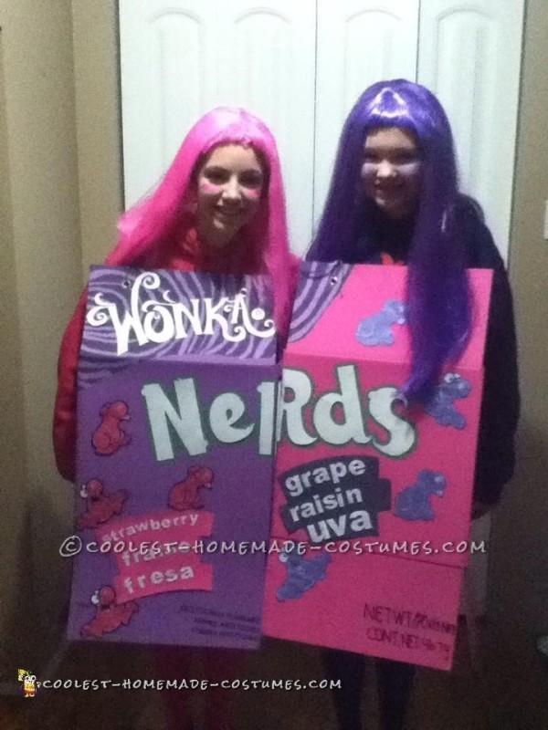 Nerds Girls Couple Costume