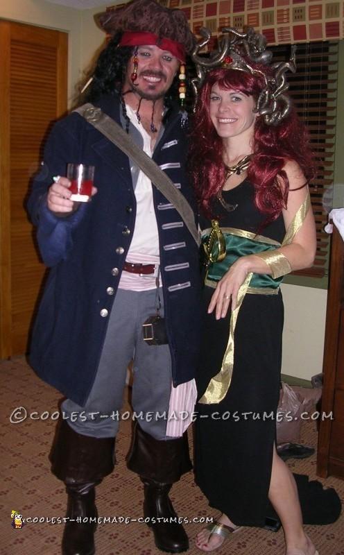 Coolest Homemade Medusa Costume