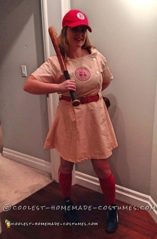 Coolest Rockford Peach Costume from A League of Their Own