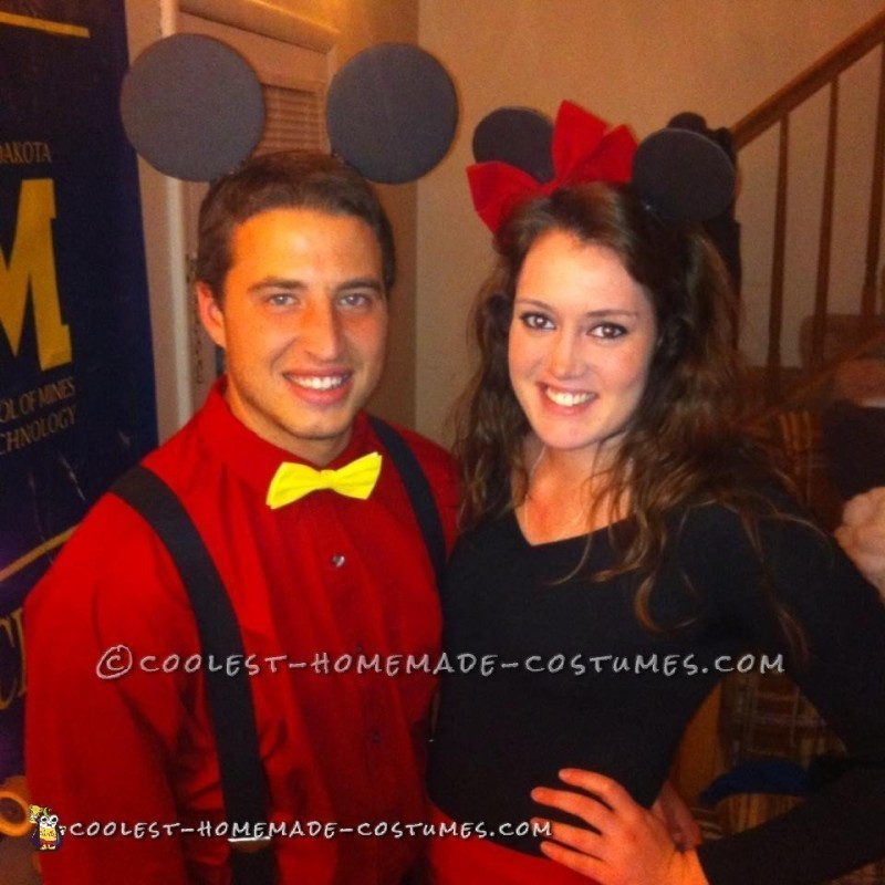 Couples Mickey and Minnie Mouse Costume