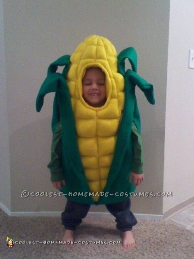 Cutest Handmade Corn Costume Ever!
