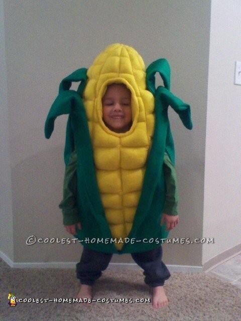Cutest Handmade Corn Costume Ever!