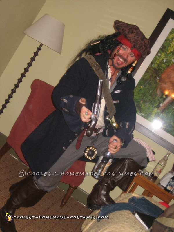 Coolest Homemade Jack Sparrow Costume – The Real Deal! - 1
