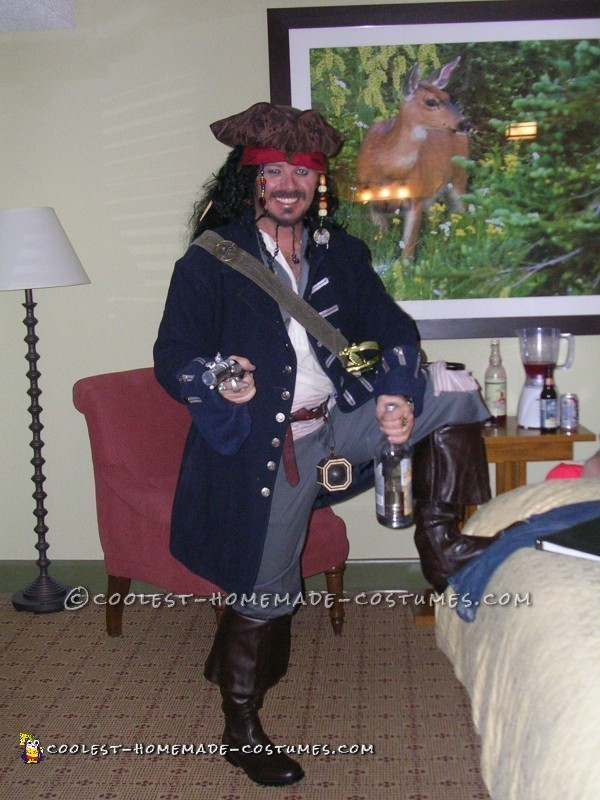 Coolest Homemade Jack Sparrow Costume – The Real Deal!
