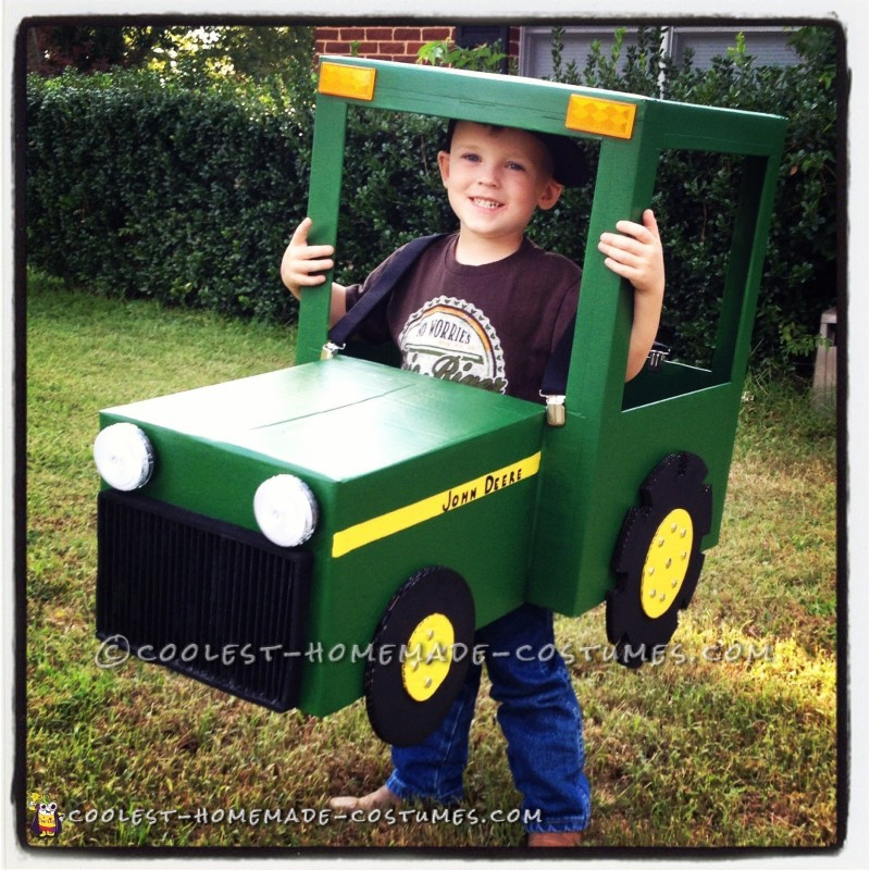 Coolest John Deere Tractor Costume for 4-Year Old Boy - 1