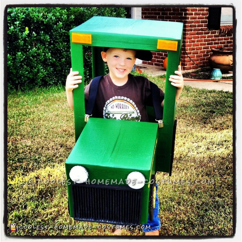 Coolest John Deere Tractor Costume for 4-Year Old Boy - 2