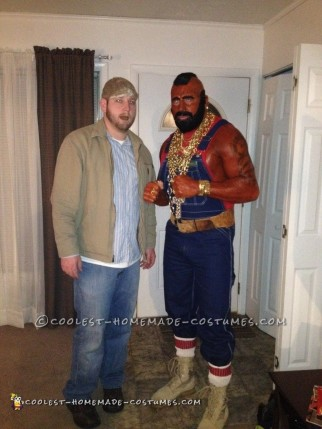 Homemade Me as Mr. T Costume