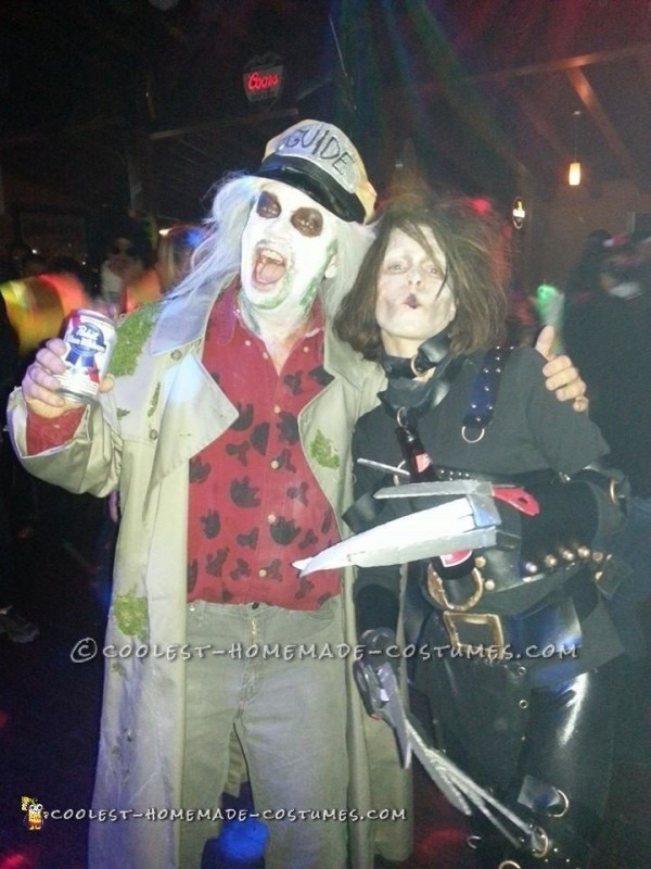 Cool DIY Beetlejuice Costume – The One and Only Taxi Driver - 1