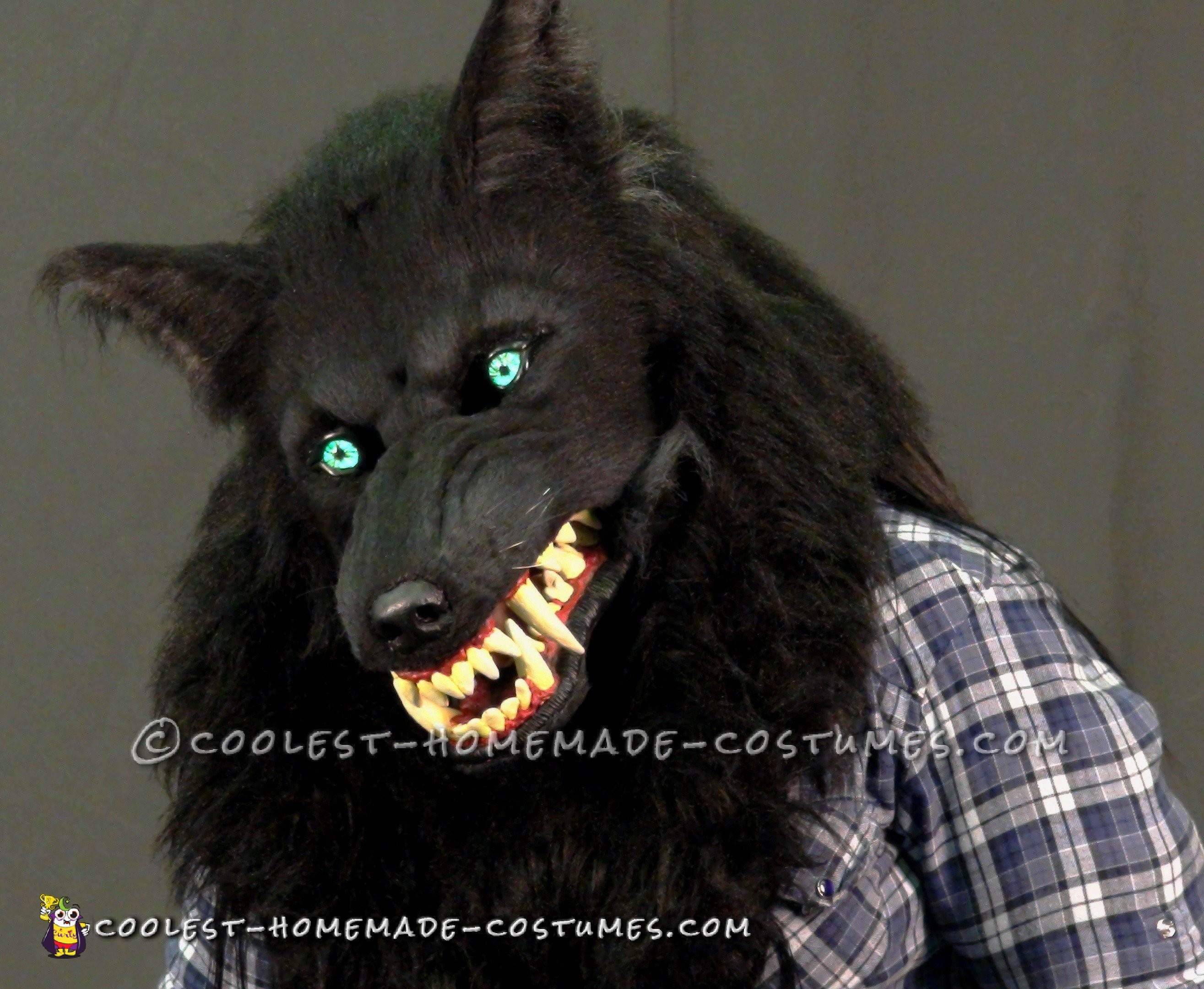 Awesome Silver Willows Werewolf Costume