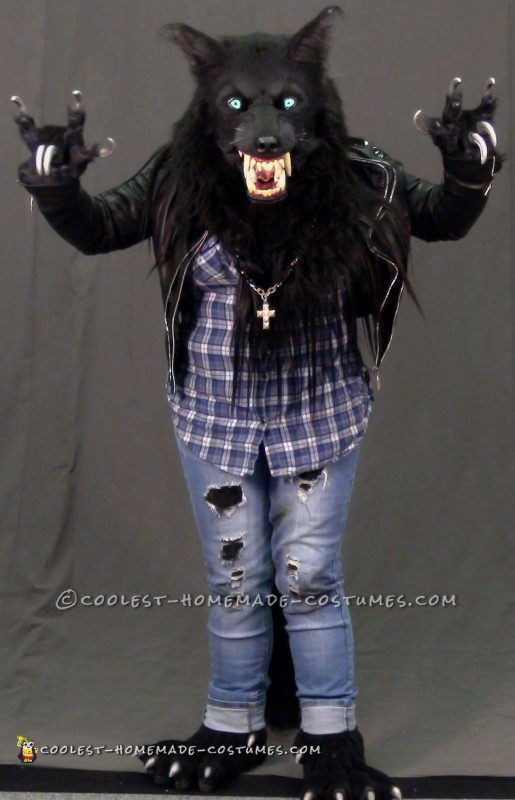 Awesome Silver Willows Werewolf Costume - 1