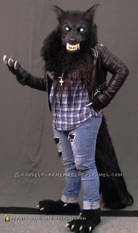 Awesome Silver Willows Werewolf Costume - 2