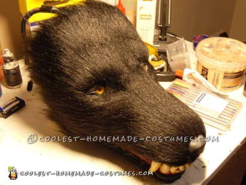 Before shaving and air-brushing