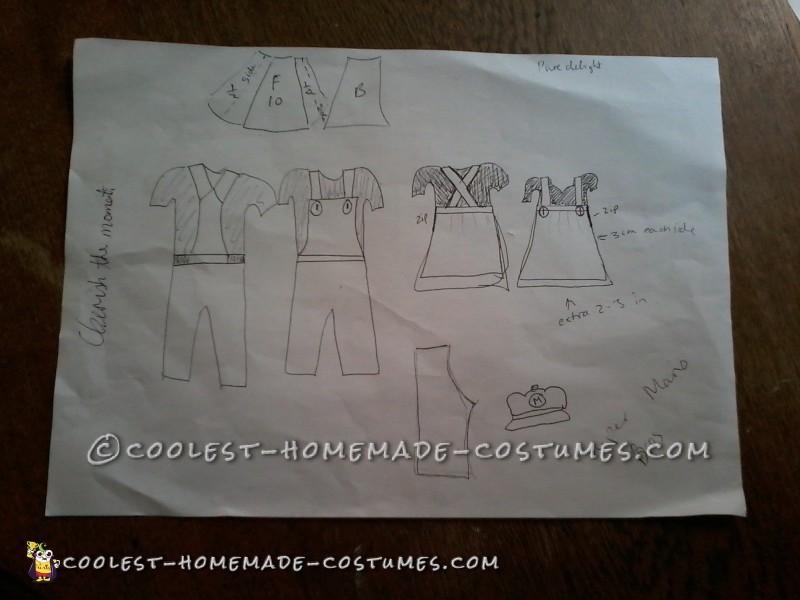 The initial sketch idea