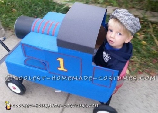 Coolest Homemade Thomas the Train Costume