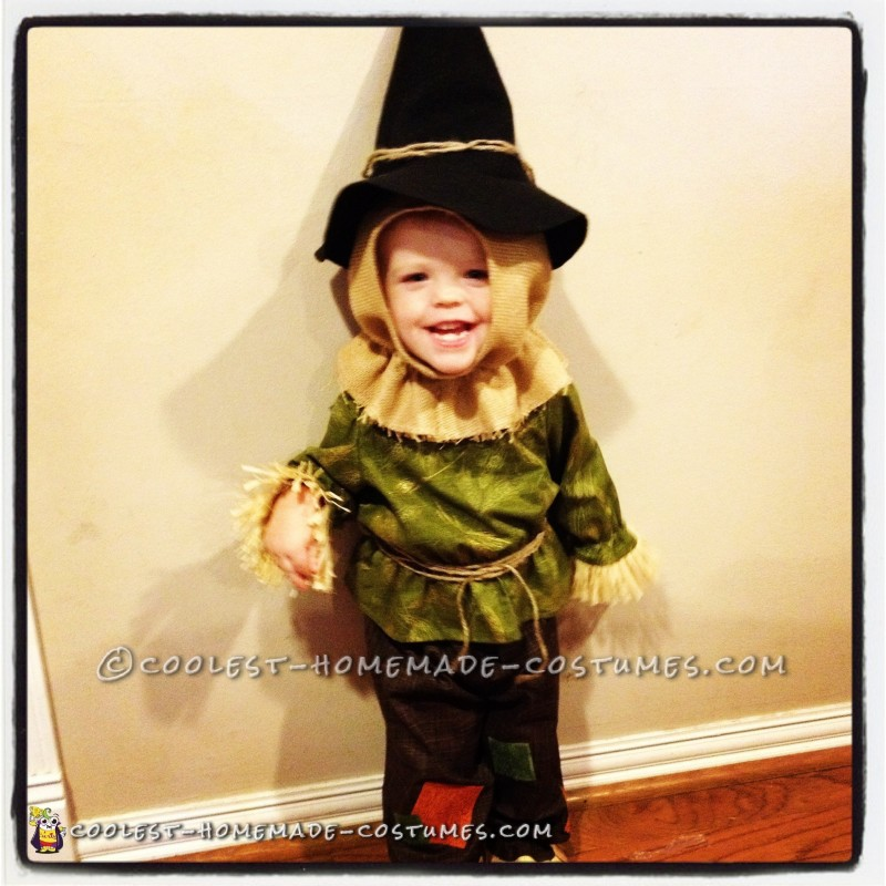 Toddler Girl Scarecrow Halloween Costume Cute Toddler Scarecrow Costume