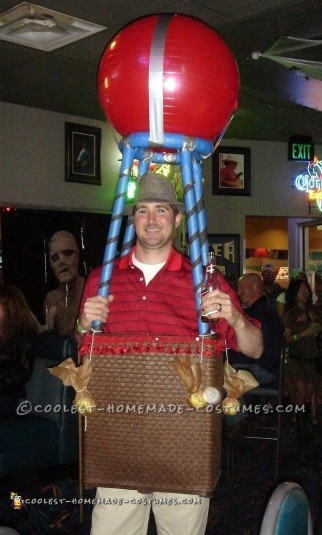 Coolest Hot Air Balloon UP Carl Costume