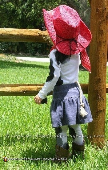 Cutest Cow Child Cowgirl Costume - 1