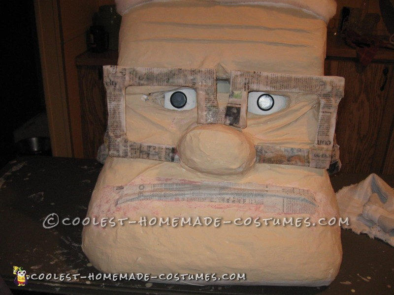 Coolest Carl from Up Paper Mache Costume