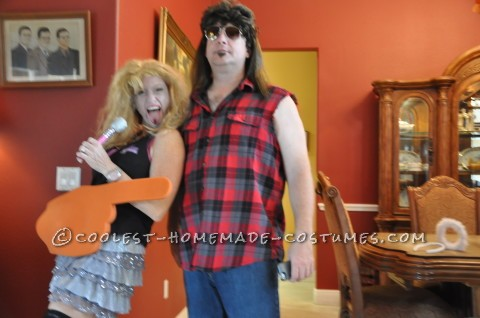 Hannah Montana is Dead and Billy Ray Cyrus Couple Costume