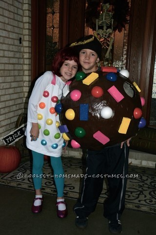 Delicious Candy Crush Costume for Kids