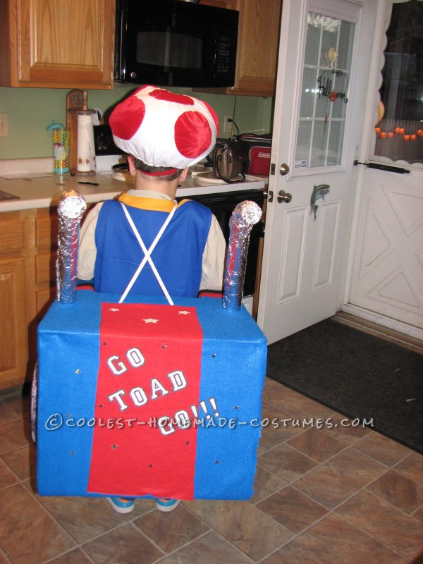 Cool Mario Bros. Toad Racing Kart Costume - 4