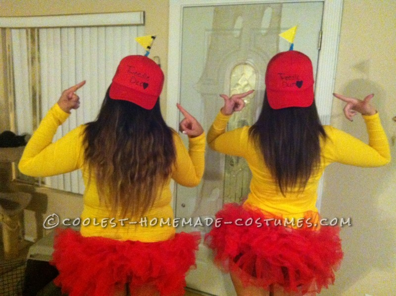 Sexy Tweedle Dee and Tweedle Dum Costumes on a Budget - 1