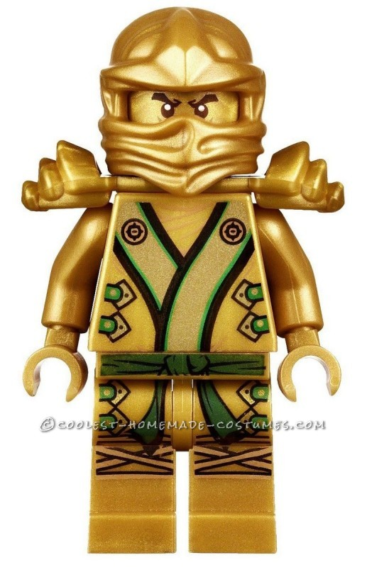 Cool Lego Ninjago Golden Ninja Costume - 2