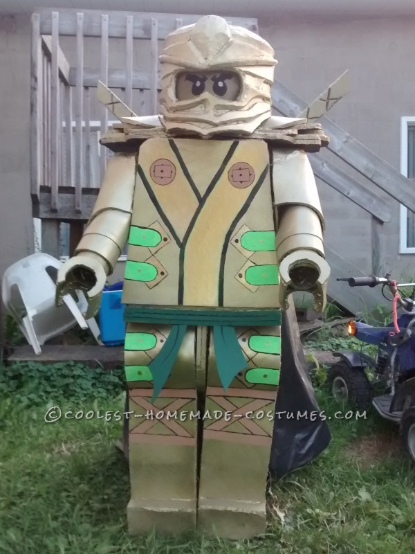 Cool Lego Ninjago Golden Ninja Costume