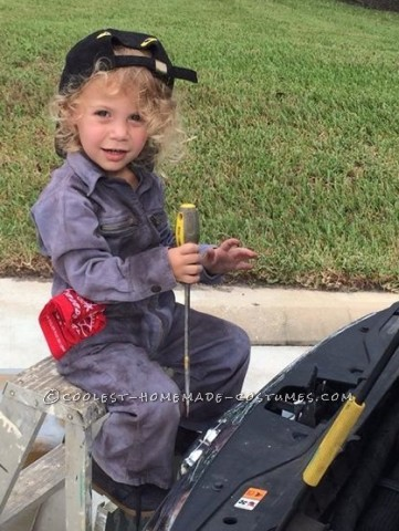 LIttle Miss Auto Mechanic  Costume