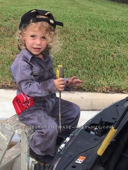 LIttle Miss Auto Mechanic  Costume