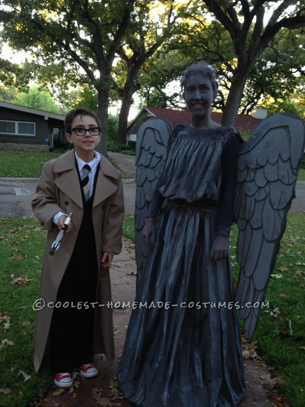 Weeping Angel Costume from Doctor Who - 3