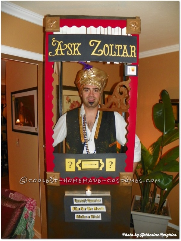 """Ask Zoltar"" Fortune Telling Machine Costume Idea"