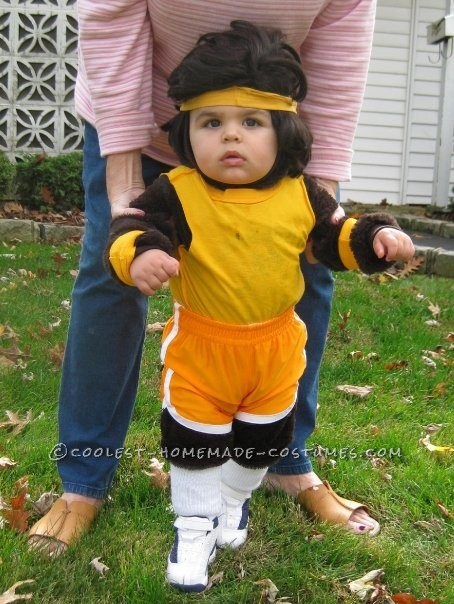 Adorable Baby Teen Wolf Costume