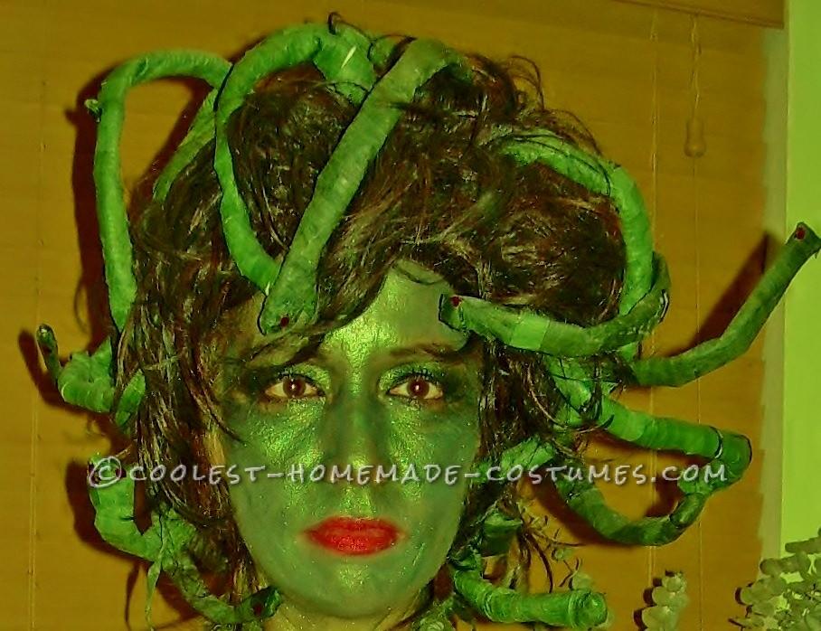 Best Homemade Medusa Costume Ever!