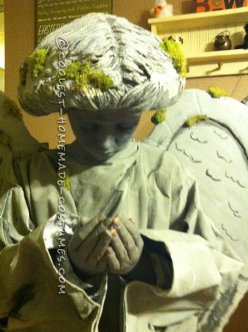Cool DIY Cemetery Angel Costumes